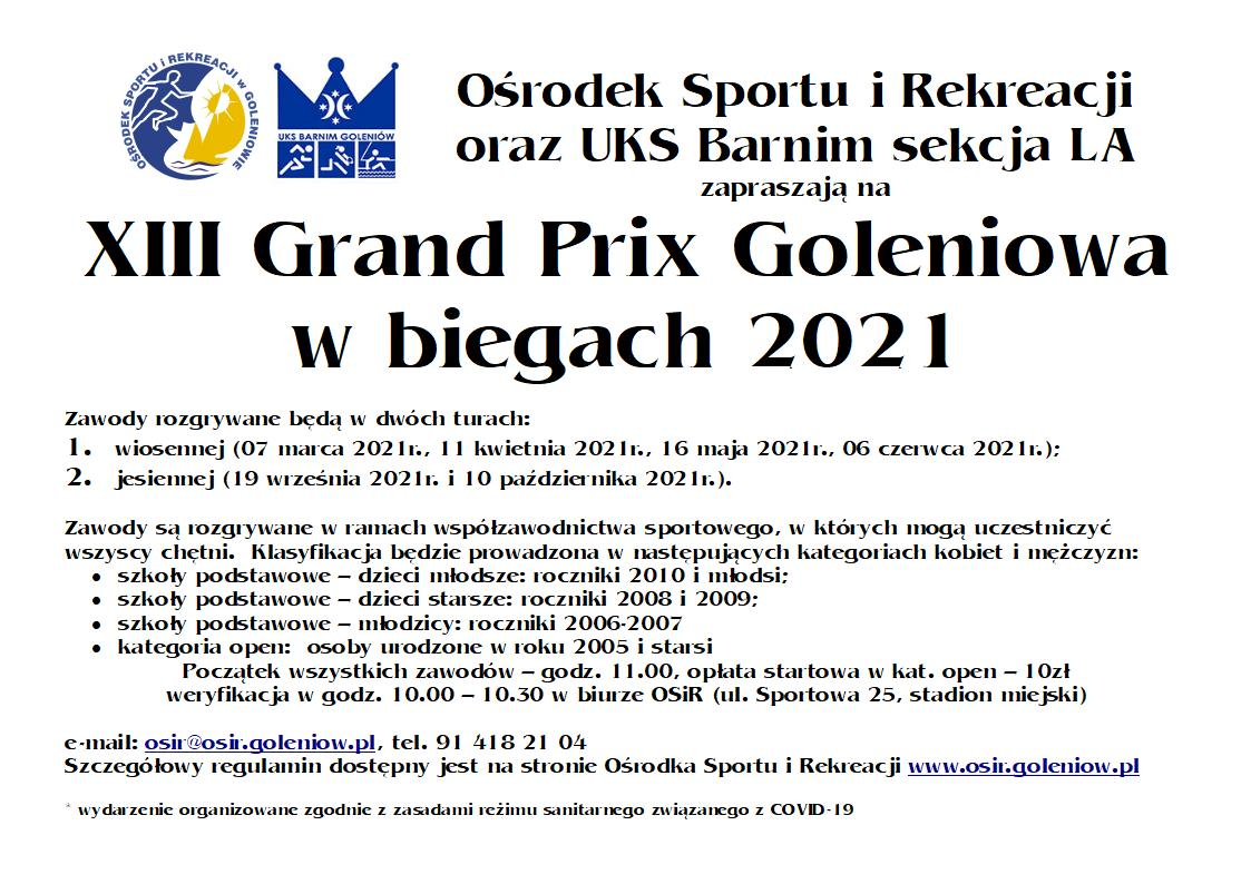 plakat new Grand Prix 2021